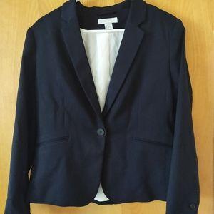 H&M Women's Navy Blazer